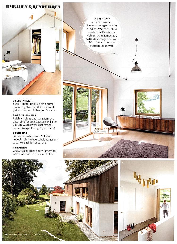 SCHÖNER WOHNEN 2013 — spandriwiedemann architekten