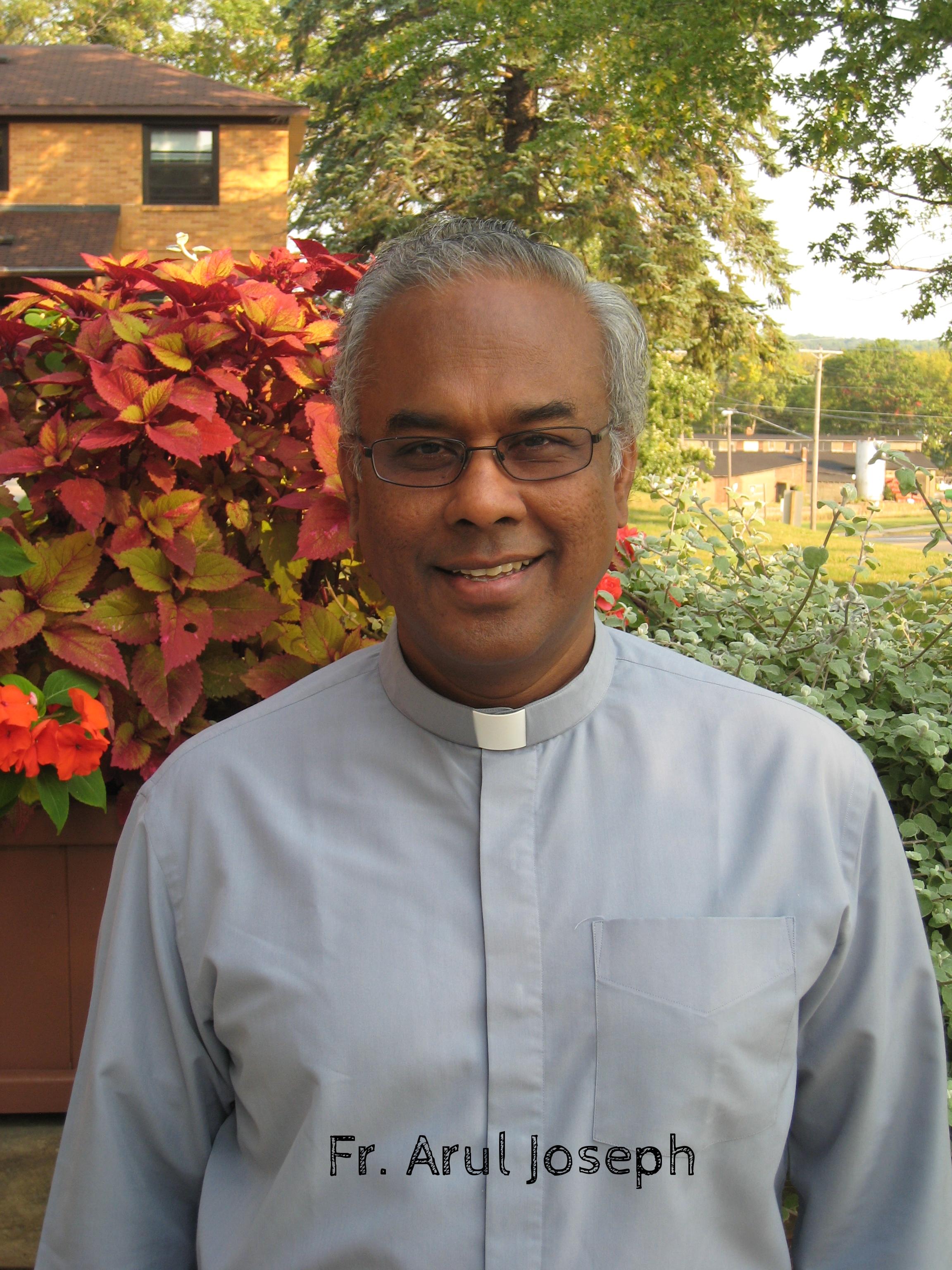 Father Arul Joseph V.