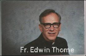Father Edwin Thome