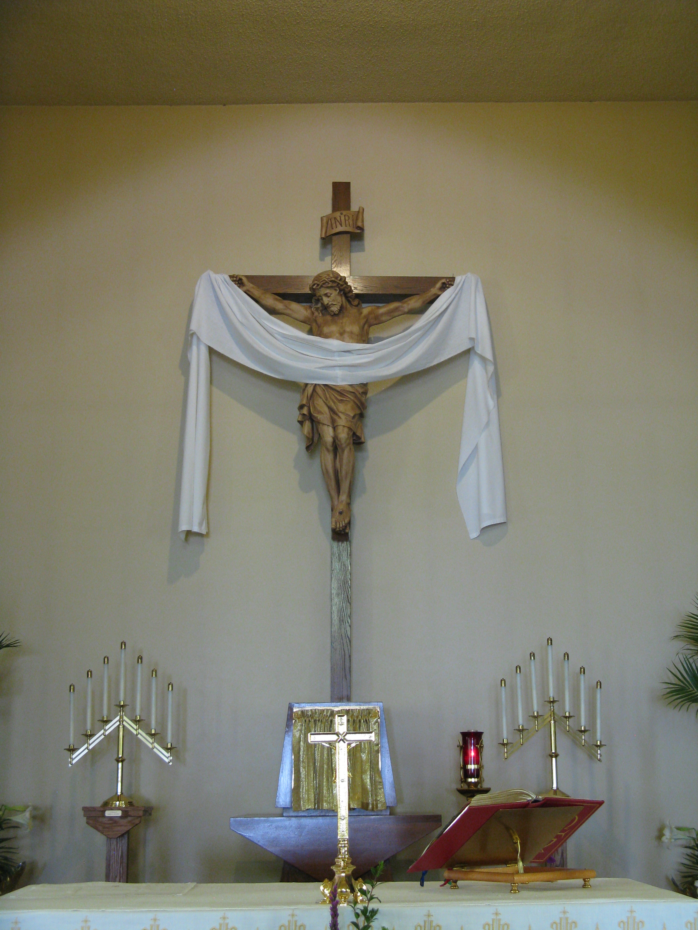 Our beautiful altar!