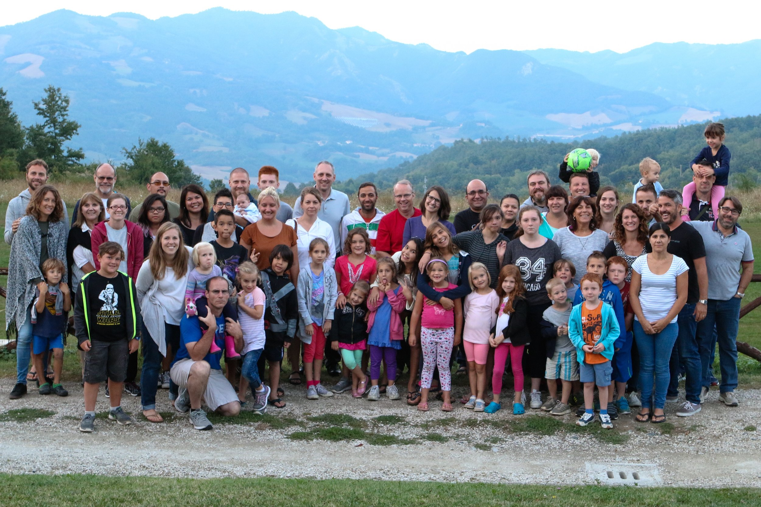 Italy Church Planters Family Retreat IMPATTO- This was such a fun and encouraging time for our Pioneers team to be with other church planters and their families here in Italy. The kids so enjoyed being together, seeing old friends and making new ones! These relationships are so important for them as they grow up. Considering that each part of Italy where they live has an evangelical presence that is less than 1% they may be the one believing family in their neighborhood, school or even whole town. Pray that Jesus would capture and drive the hearts of these children and make them lights to those around them.