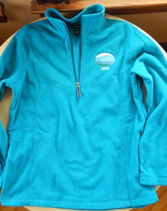 Teal Fleece Pullover  (Men and Women Sizes)  $30.00