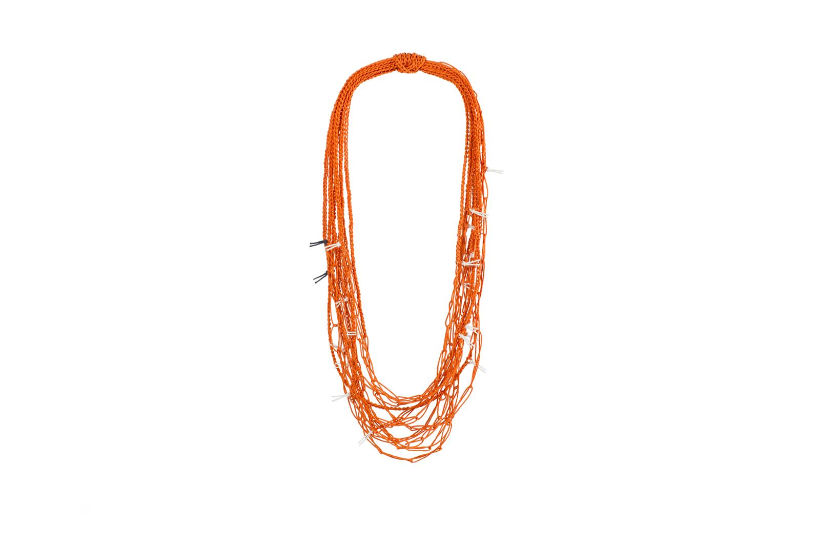 5 to 1 (orange) / waxed cotton cord