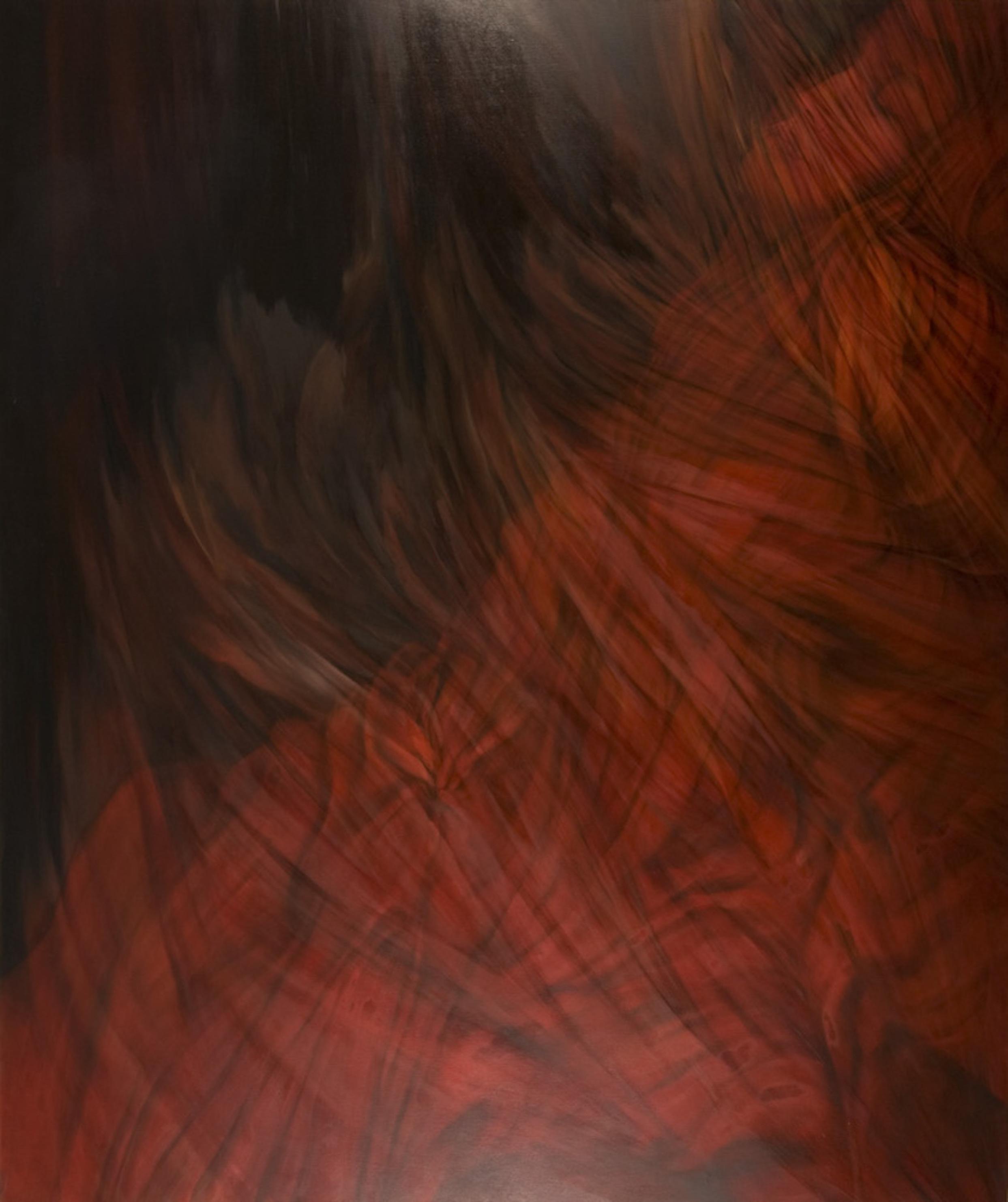 """Awakening, 2007, oil on canvas, 72"""" x 60"""""""