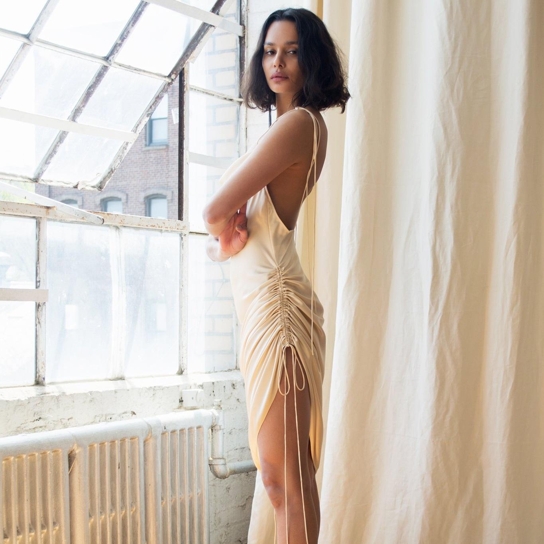 Orseund_Iris_Drawstring_Dress_Champagne.jpg