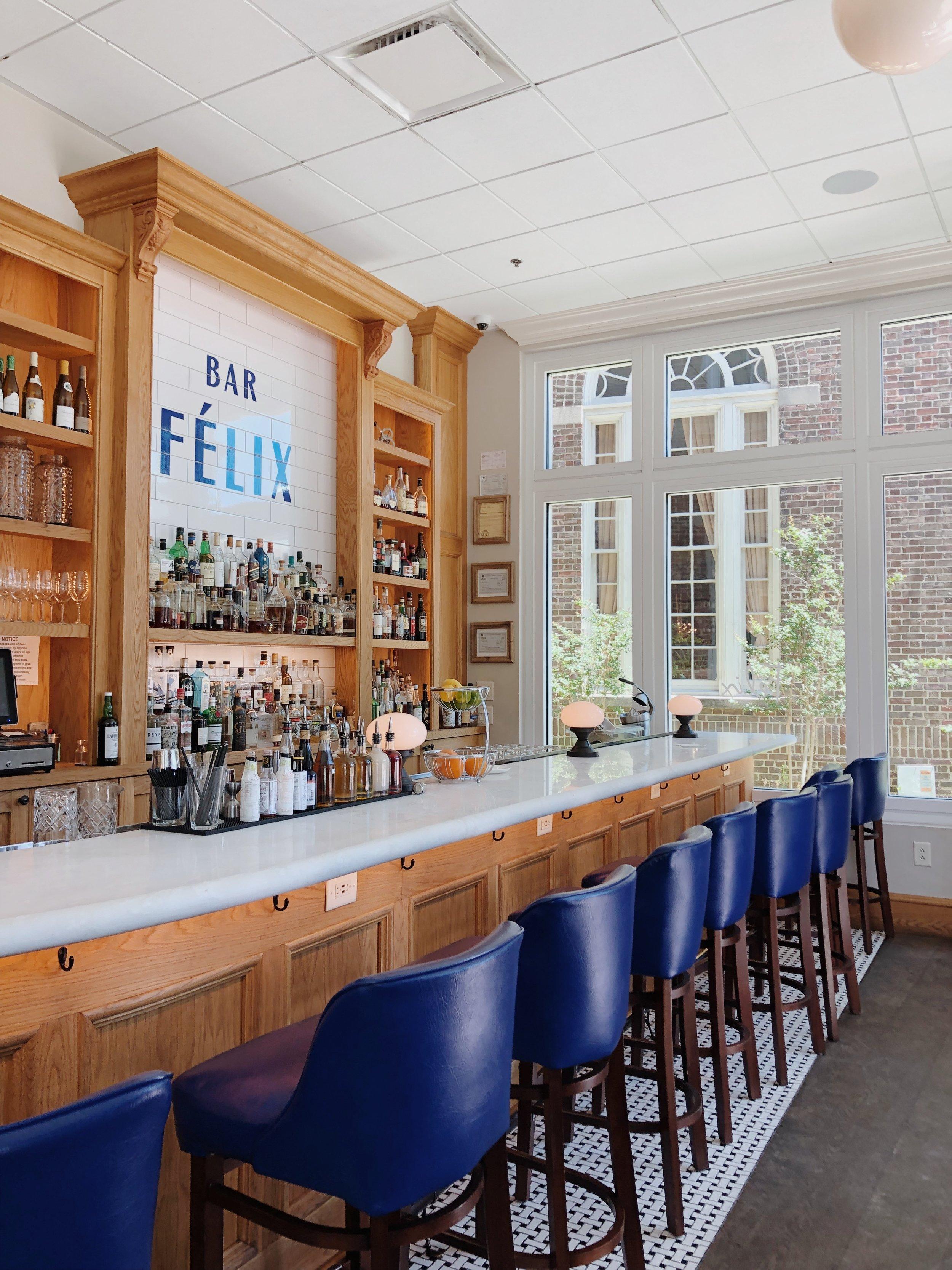 The bar @ Felix