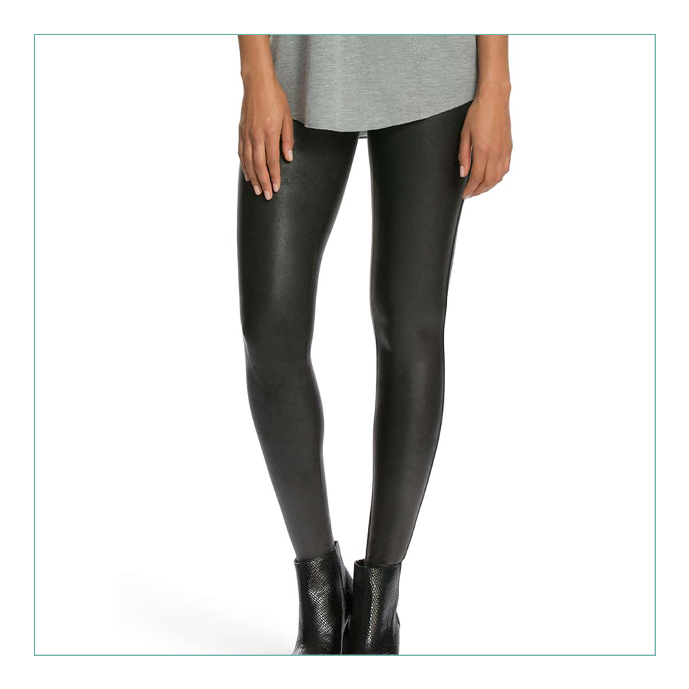 Spanx Leather Leggings - The #1 thing to buy from the #NSALE. I wear these ALL winter. They suck you in and look fabulous and can be worn dressed up or down!