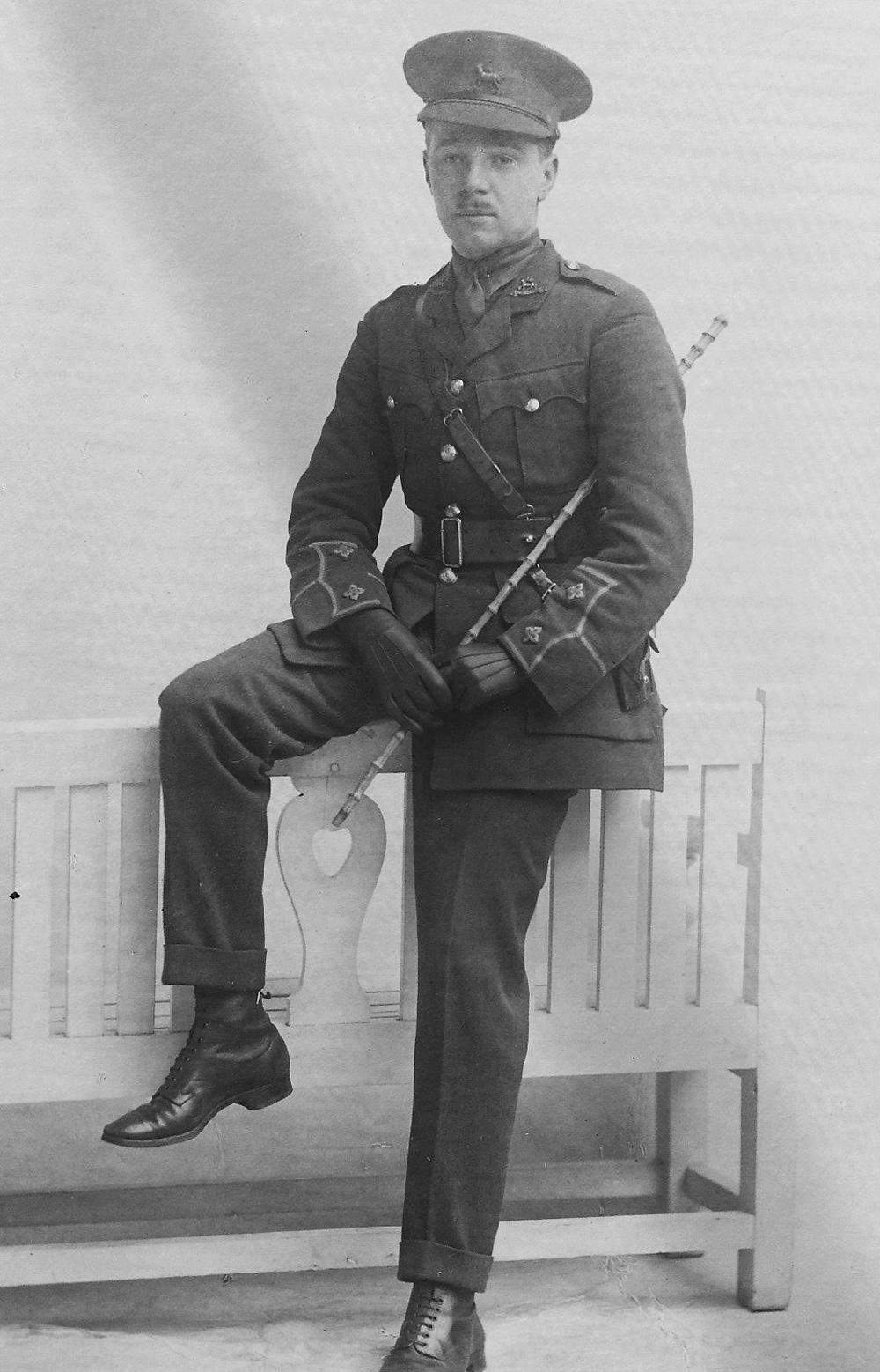 Eric John Garner-Smith (Ha. 1907-08)