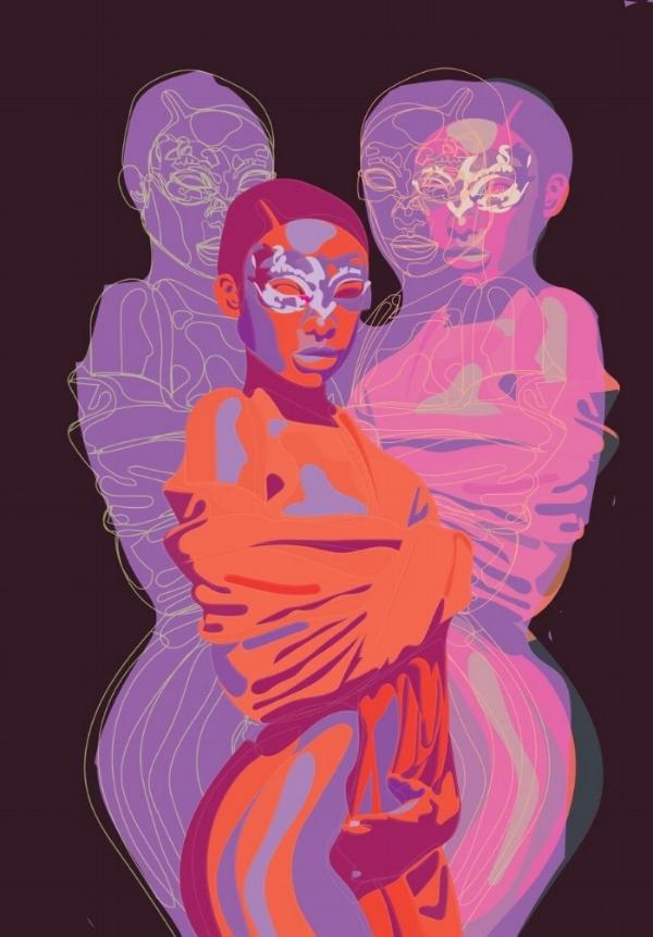 Artwork by Sophia Yeshi.