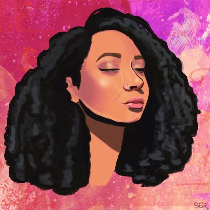 Self Portrait by Sophia Yeshi.