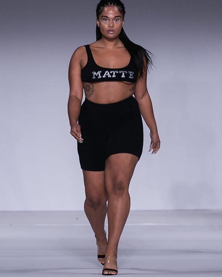 Court Kim making her NYFW debut.