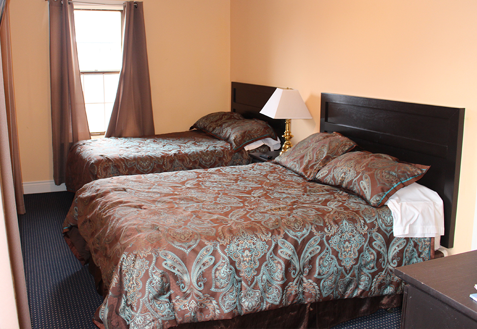 Comfortable, updated rooms