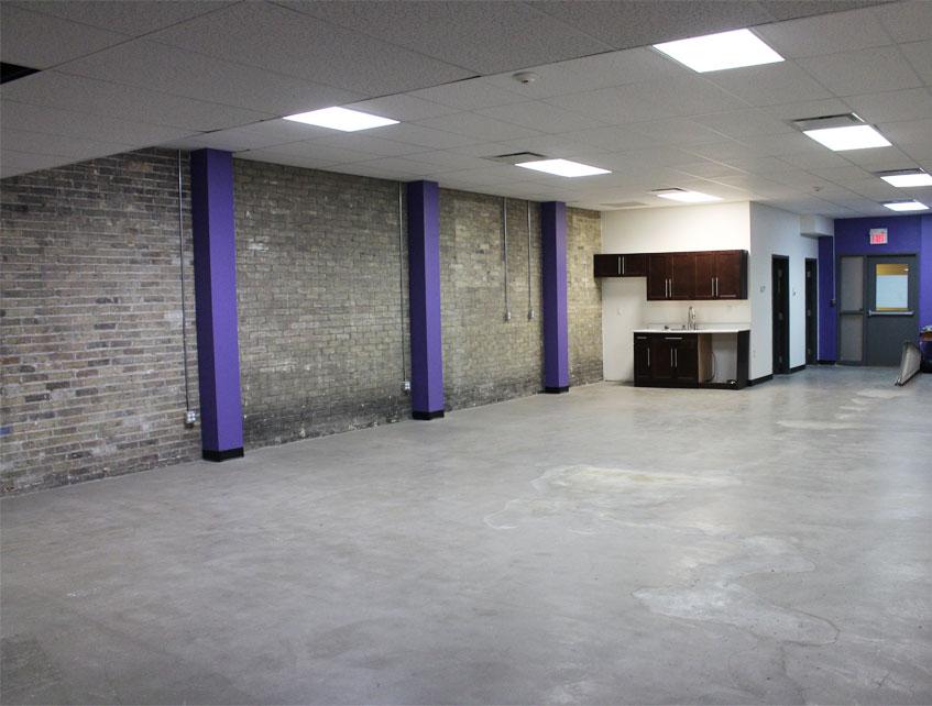 242 Dundas Street main level rear office space