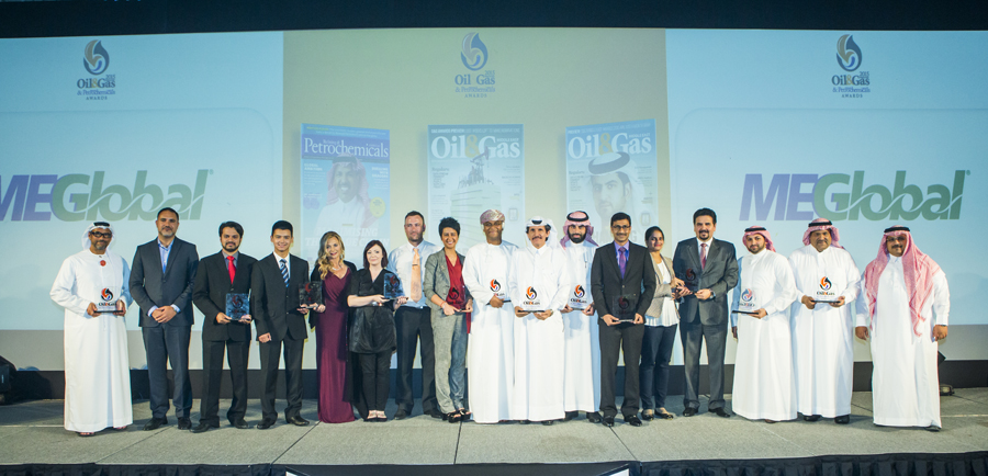 Group - Oil & Gas Awards 2015  ( Dubai) UAE (May 2015)(photo by Ajith Narendra) ( ITP Images);Oil and Gas Awards 2015