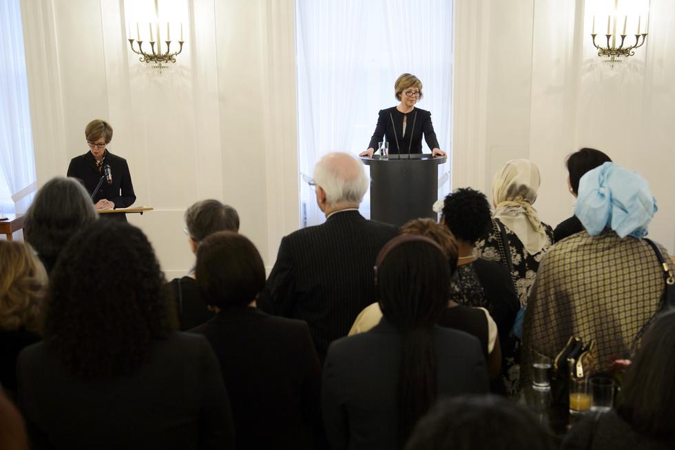 Ansprache der First Lady, Daniela Schadt, © http://marvinguengoer.de