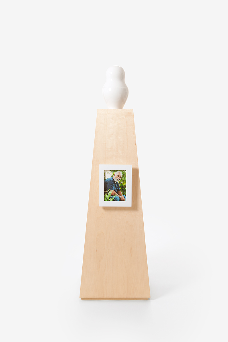 Picture Frame small Coated white