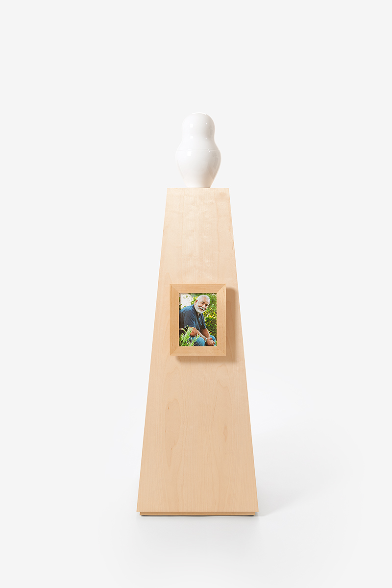 Picture Frame small Veneer Birch