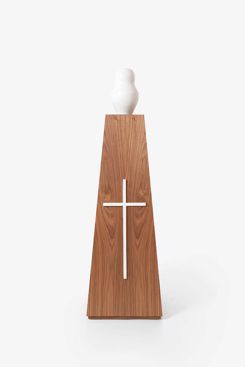 Cross Coated white