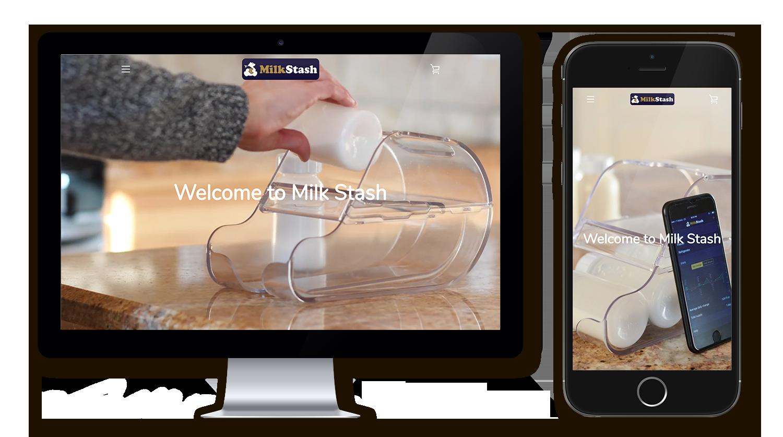 Sigalov Portfolio Milk Stash Desktop Mobile