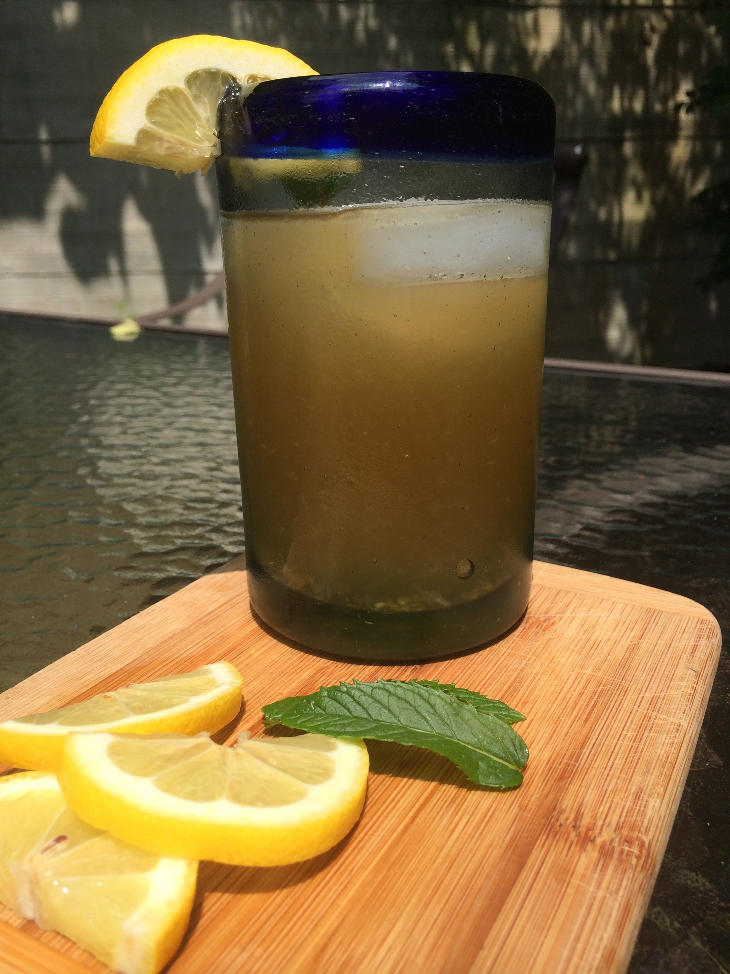 moroccan mint lemonade