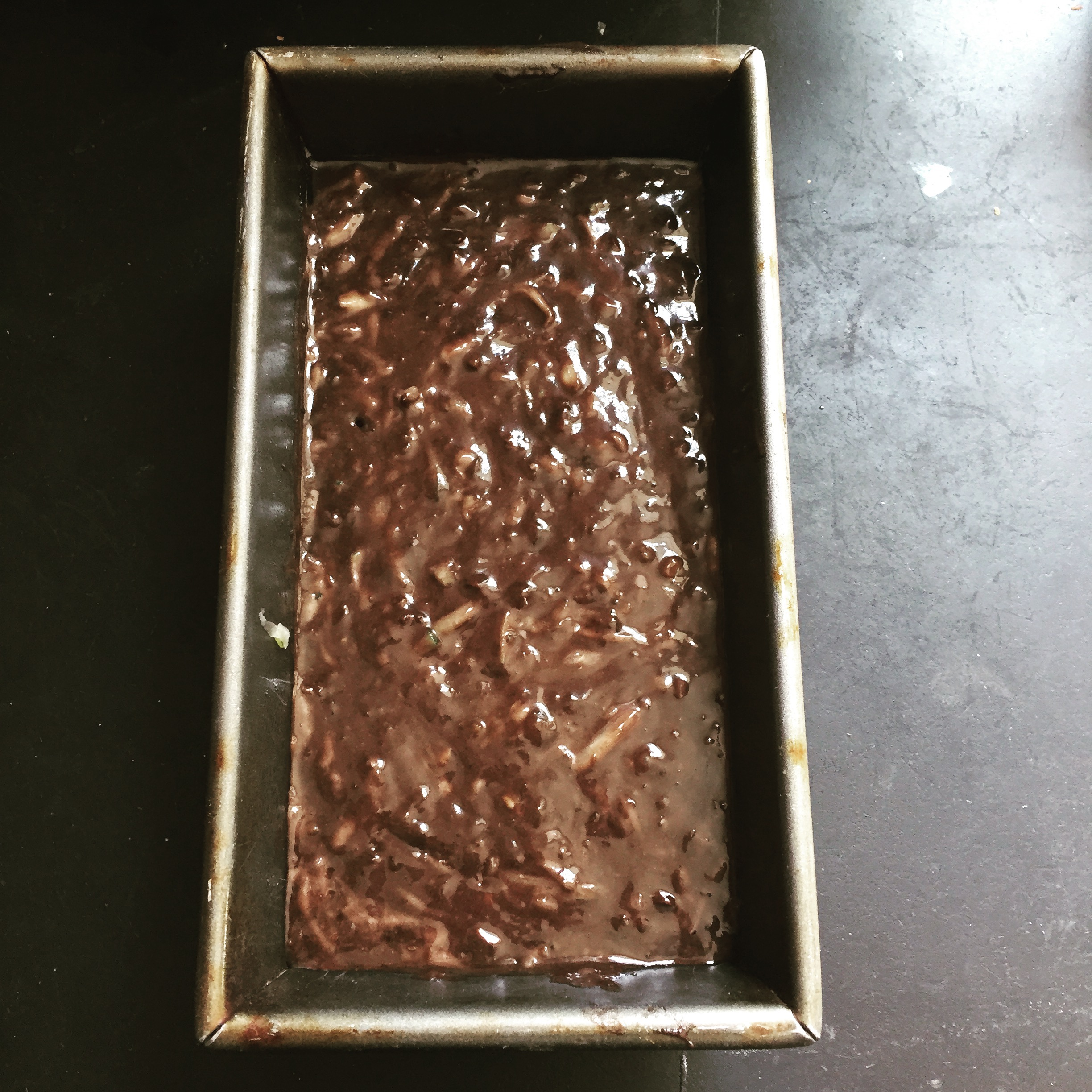 Chocolate zucchini bread: Ready to rock!