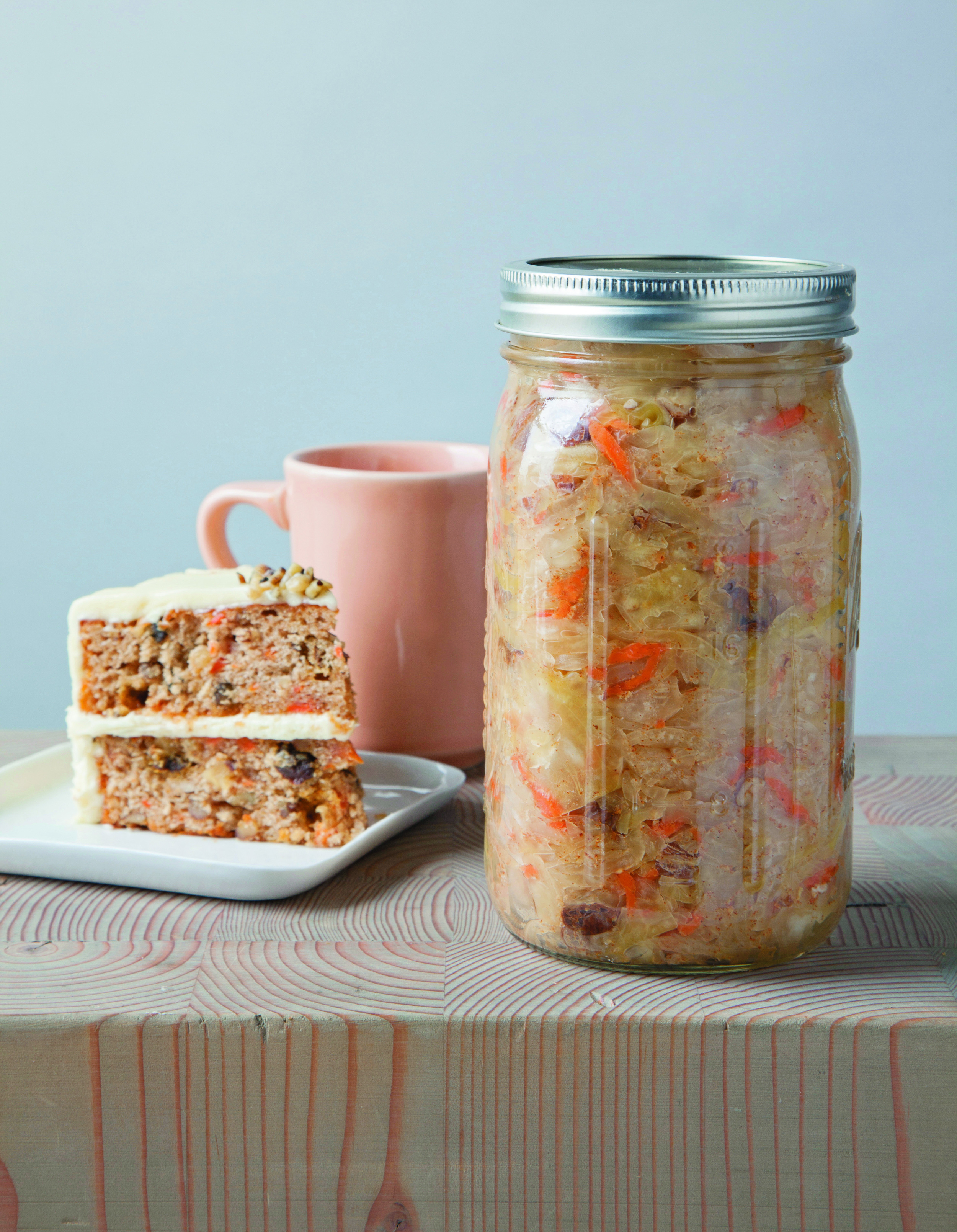 Carrot Cake Kraut, from  Ferment Your Vegetables  by Amanda Feifer. Photo by  Courtney Apple.