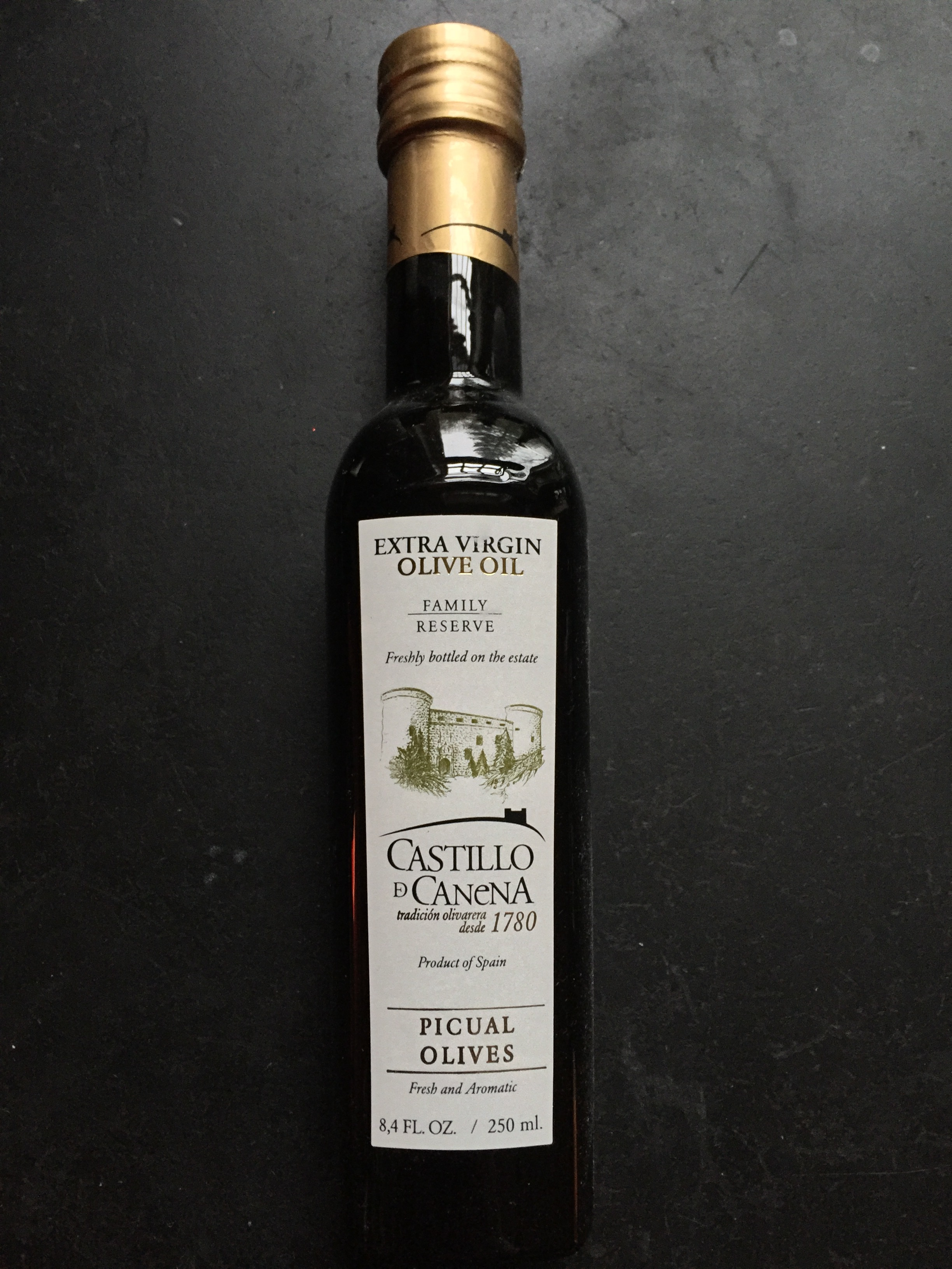 Castillo de Canena Olive Oil. Photo Courtesy of Culinary Collective.