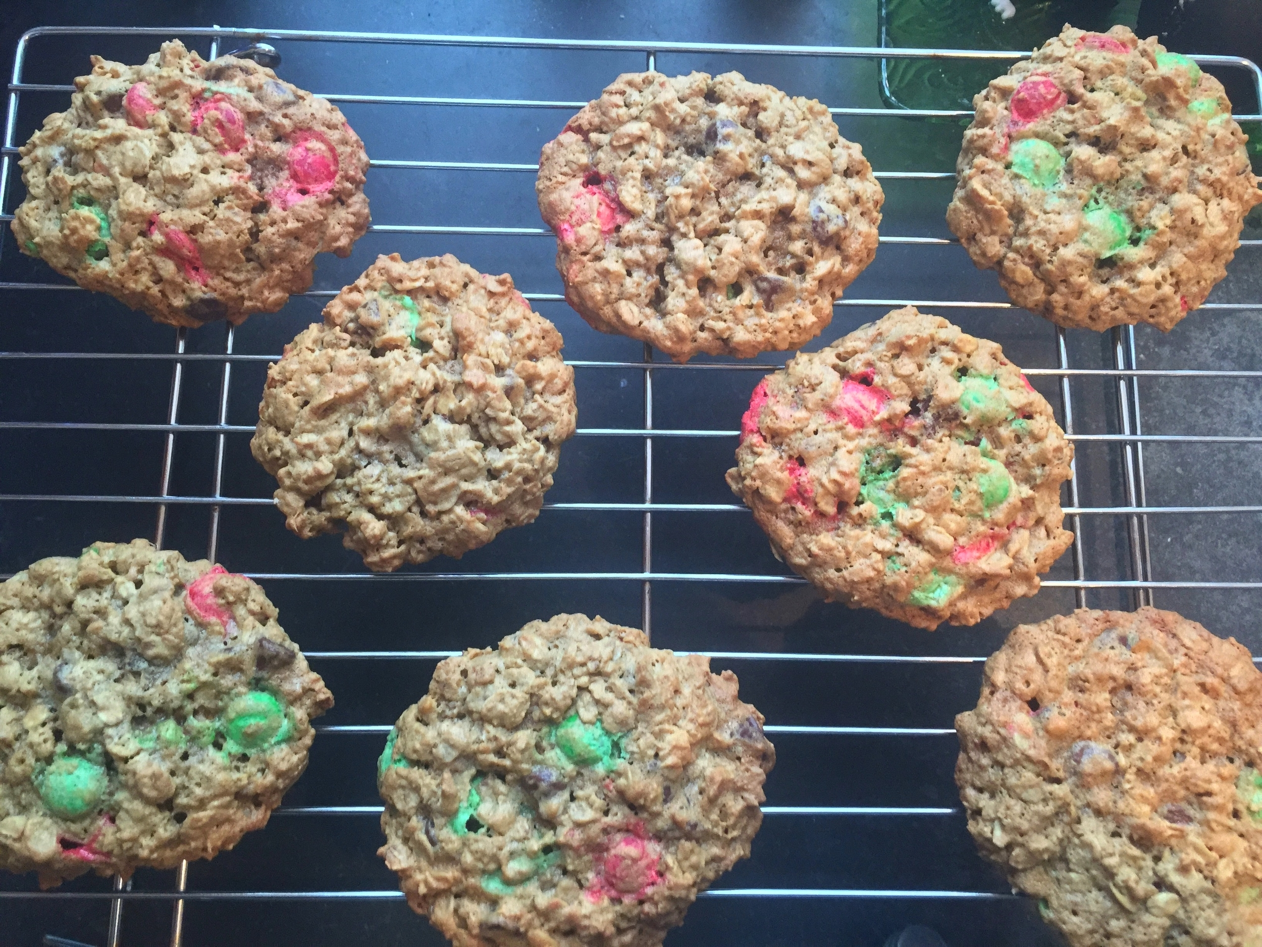 Monster Cookies for a Monster Storm