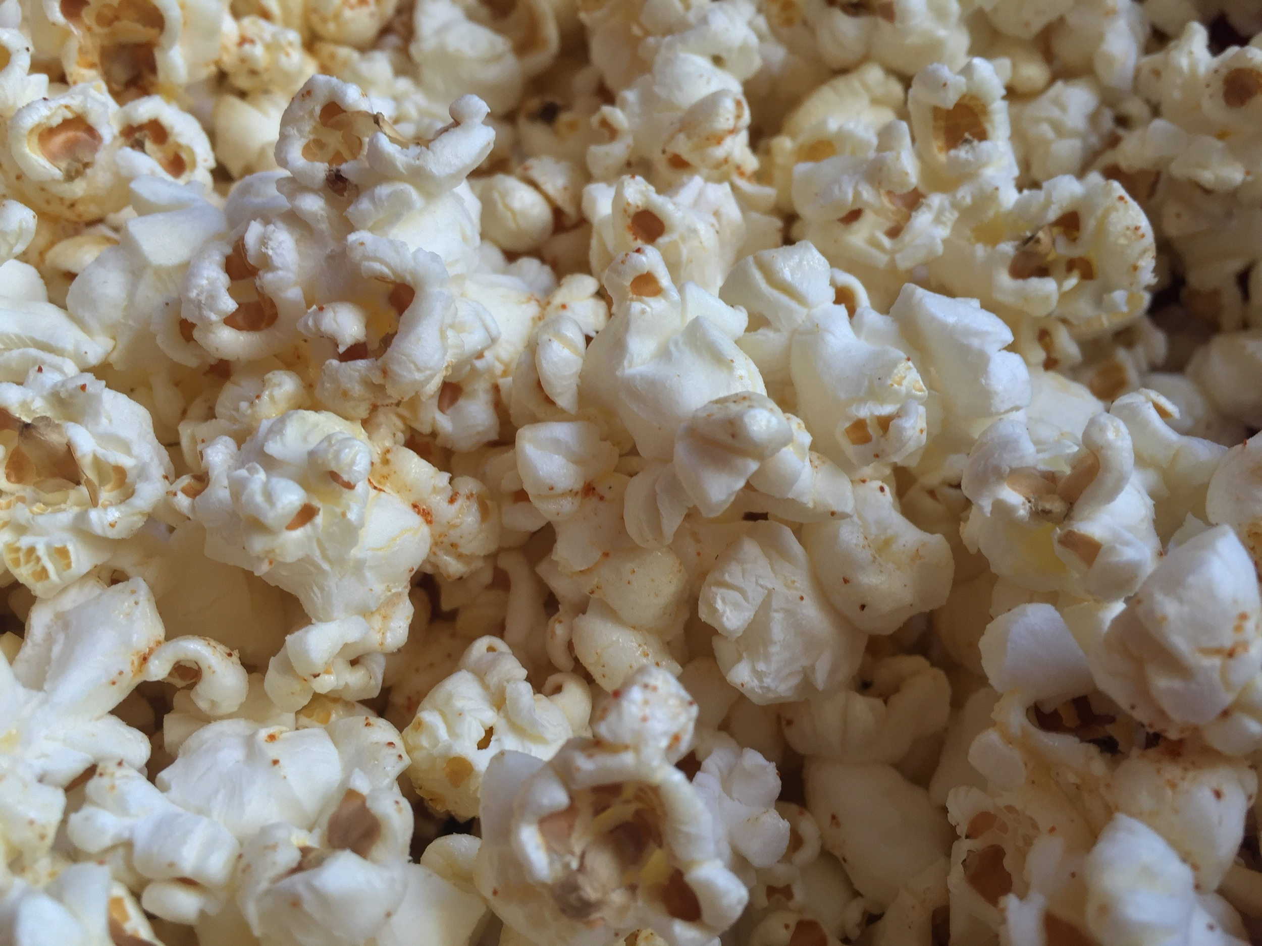 Popcorn! Is there anything better, when that's just what you want?