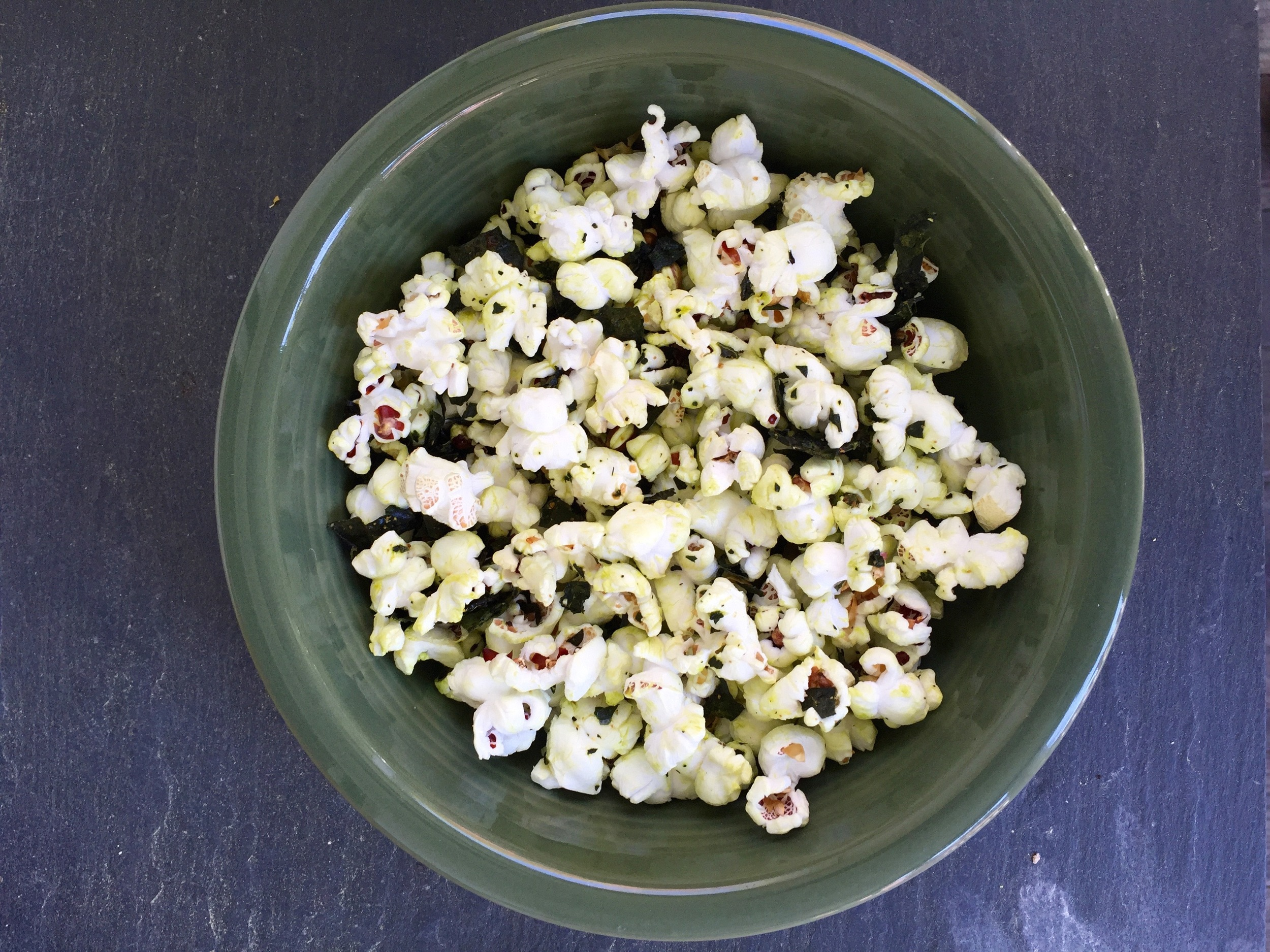 Kale Popcorn. What are you waiting for?