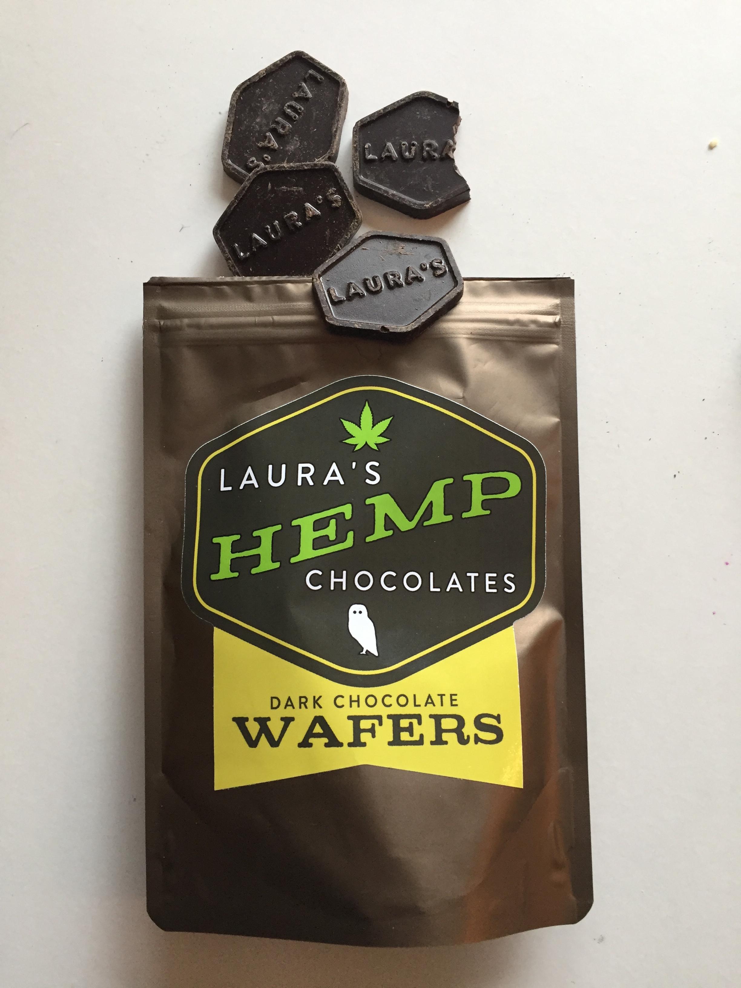 Laura's Hemp Chocolates from Winchester, Kentucky.
