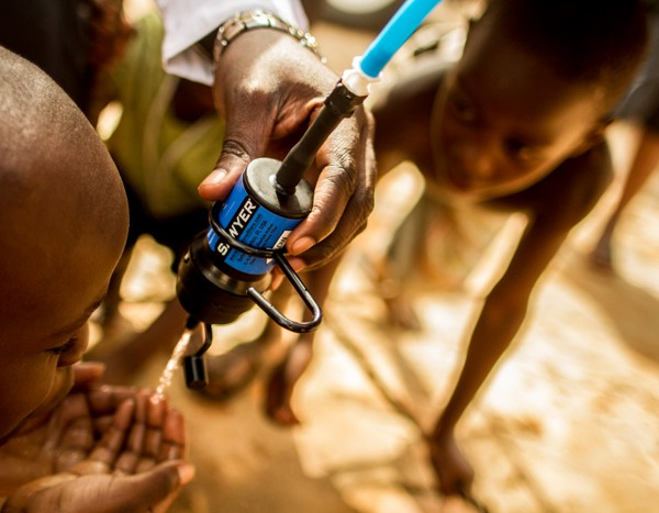 Water is Basic is now fundraising to provide Sawyer Water filters. Photo compliments of Water Is Basic team.
