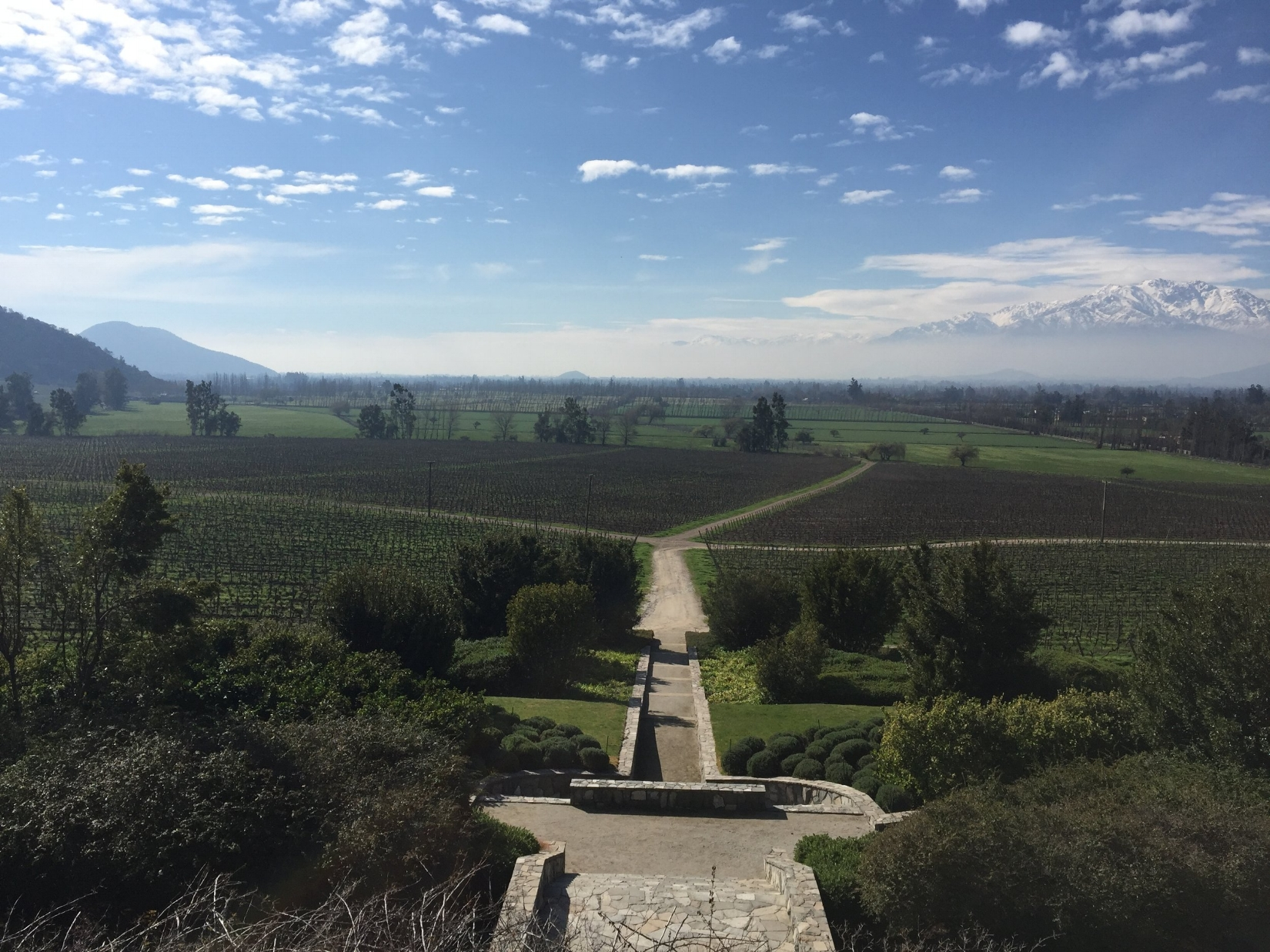 View of Maipo Valley