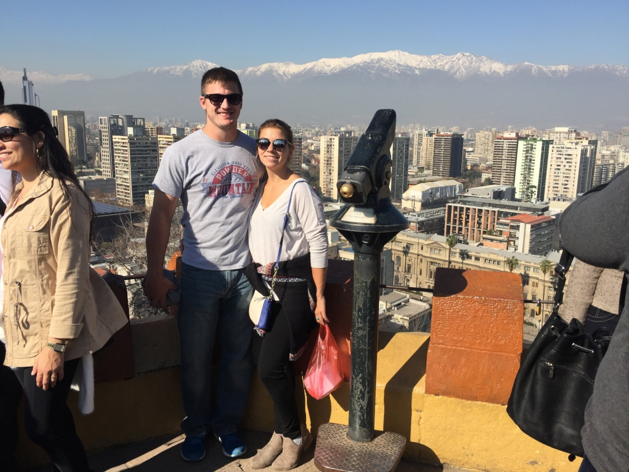 Seven million people in Santiago
