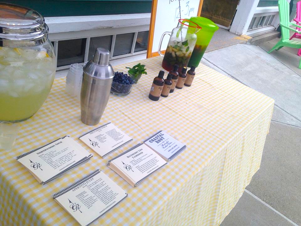 Come out and try some locally made bitters and enjoy the rest of the  Foothills Food Festival !