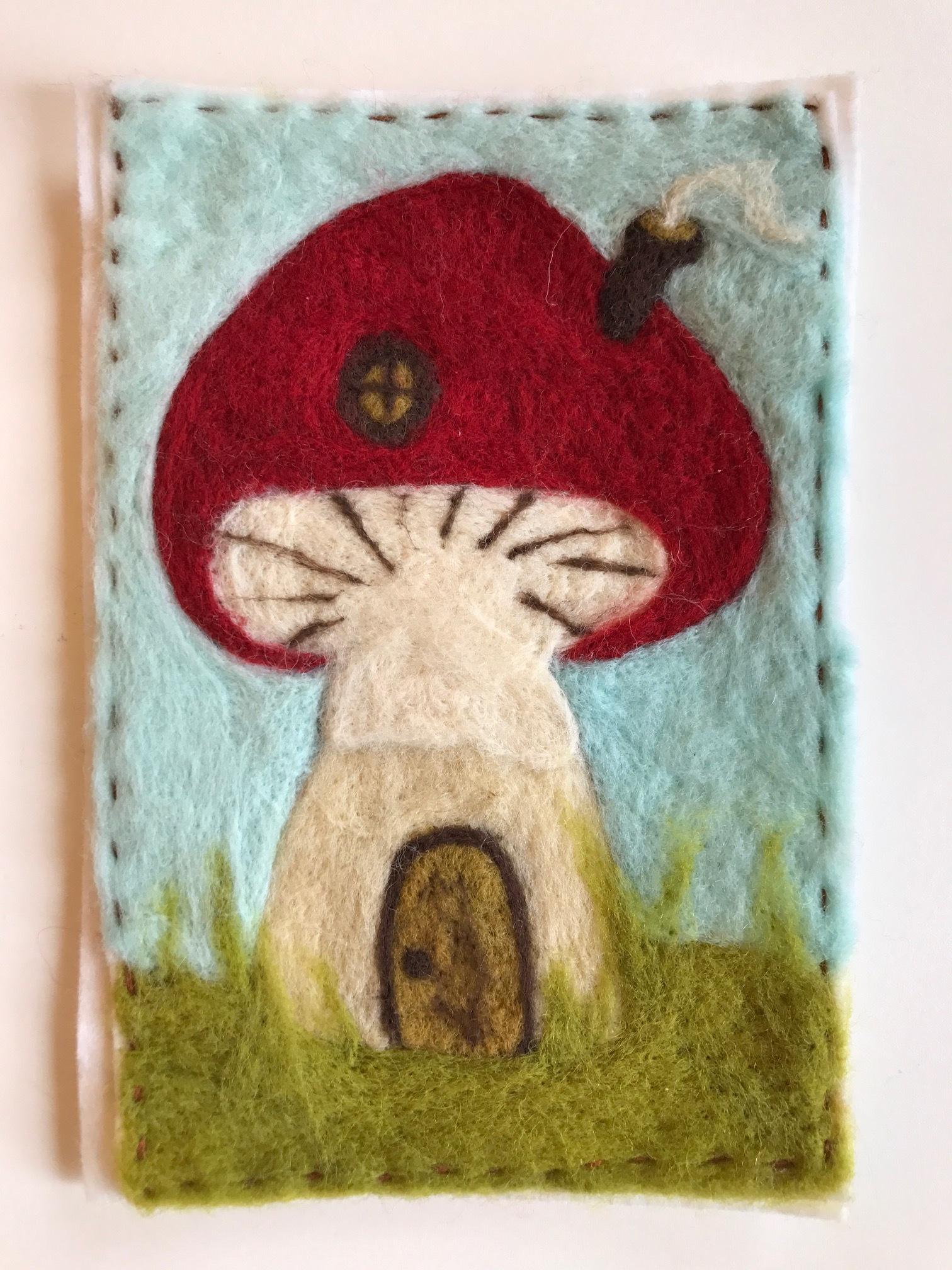 Mushroom House