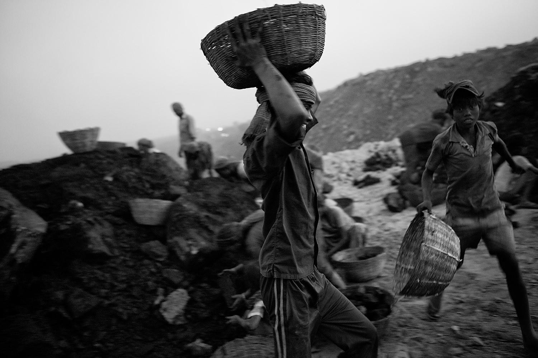 Child labor in Jharia Mine