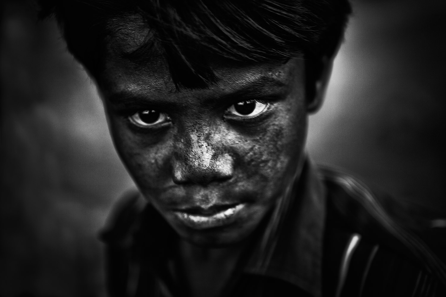 Jharia Mining  - Portrait of a young miner