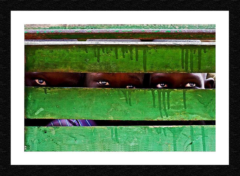 Fine art Print-Senegal-Green Tears