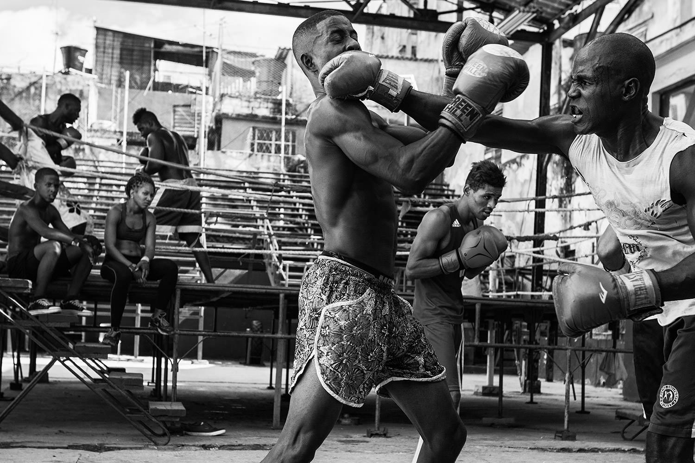 Boxing club Habana. Habana-Cuba