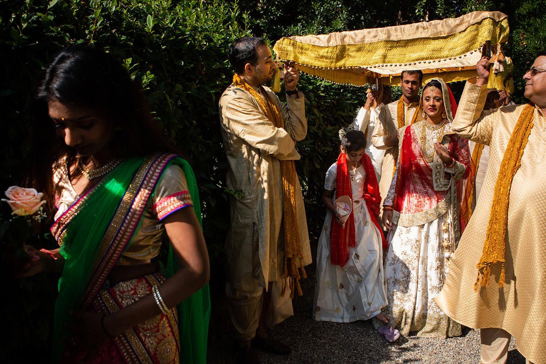 Indian Wedding. Delhi-India