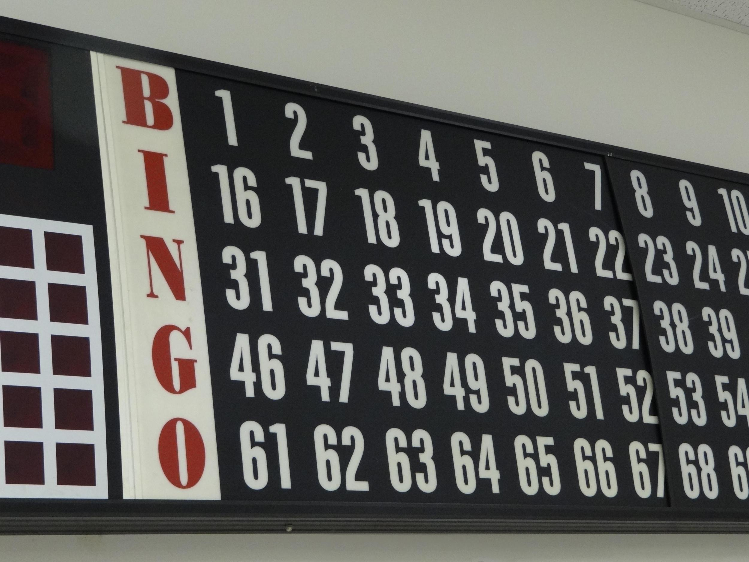 Bingo Flash Board