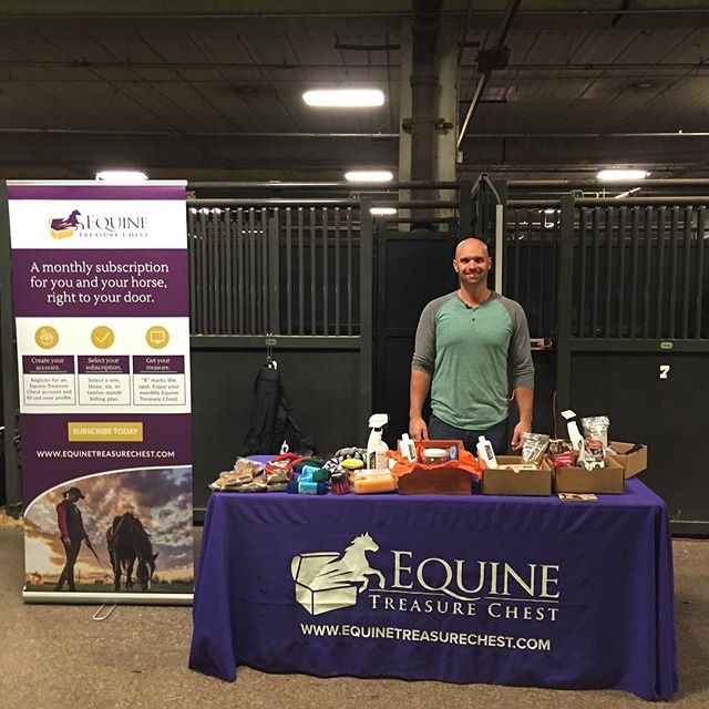 Equine Treasure Chest at the River Ridge Charity Horse Show