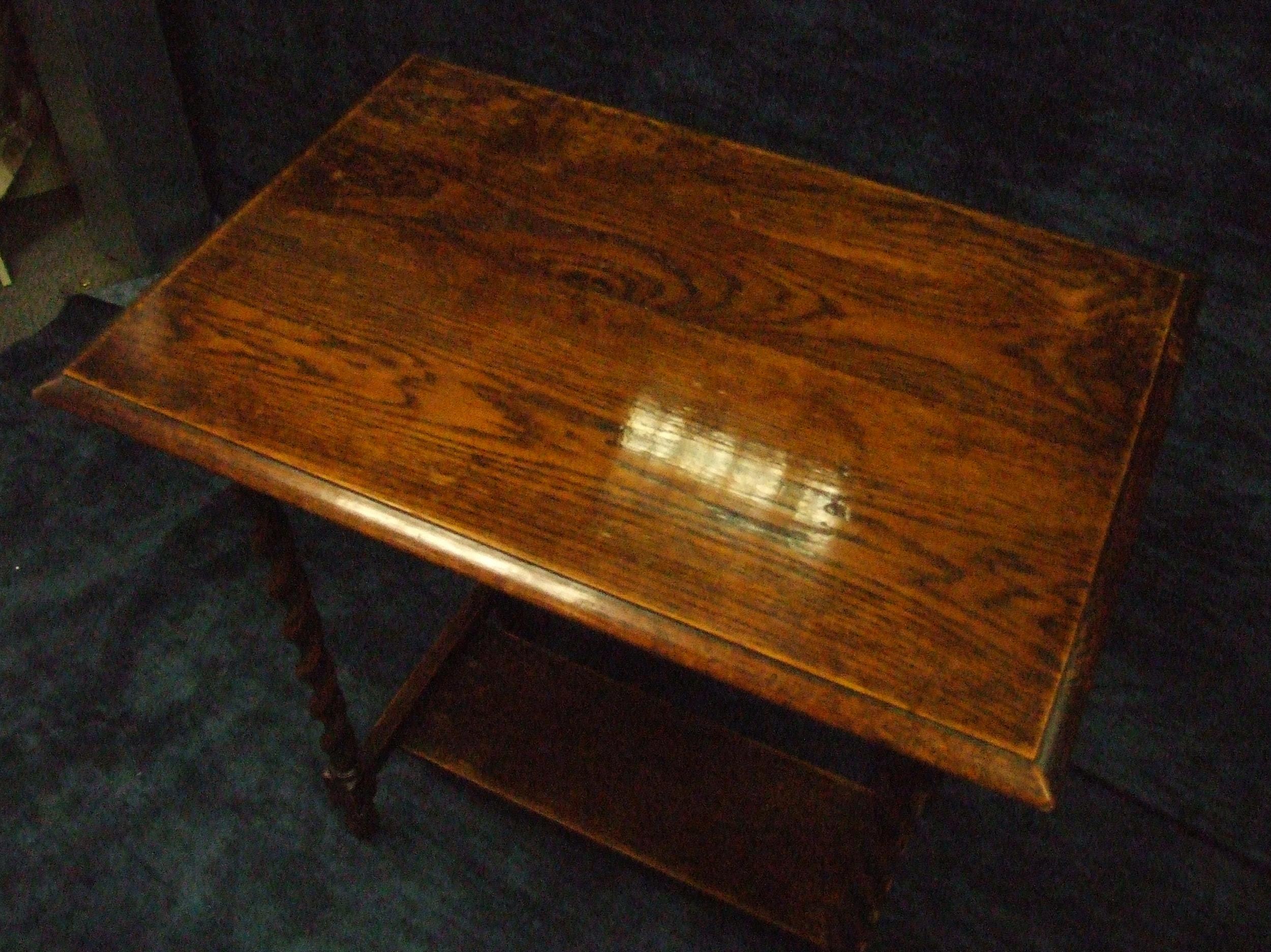 Table during polishing