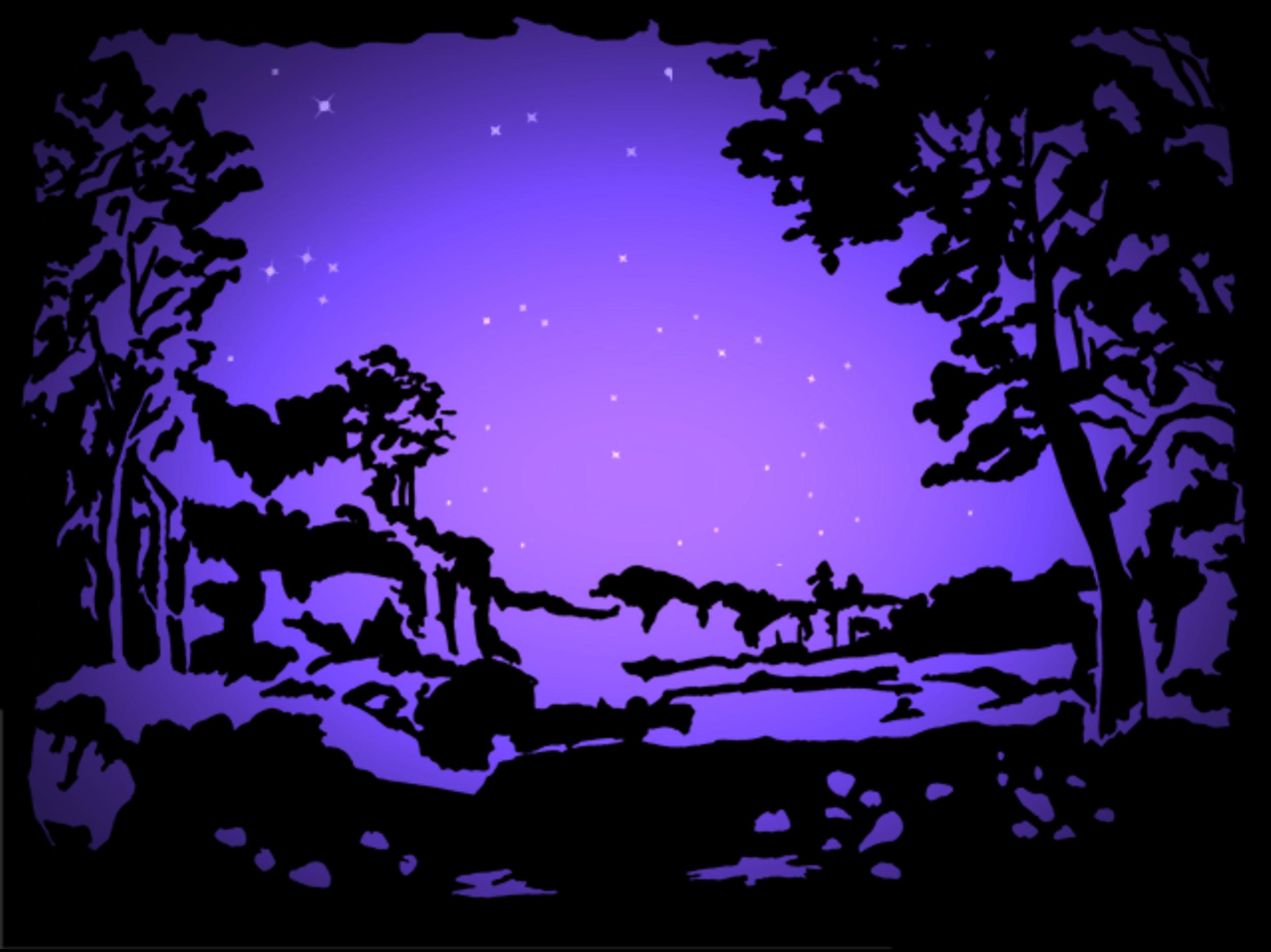 Sleeping Beauty Starscape
