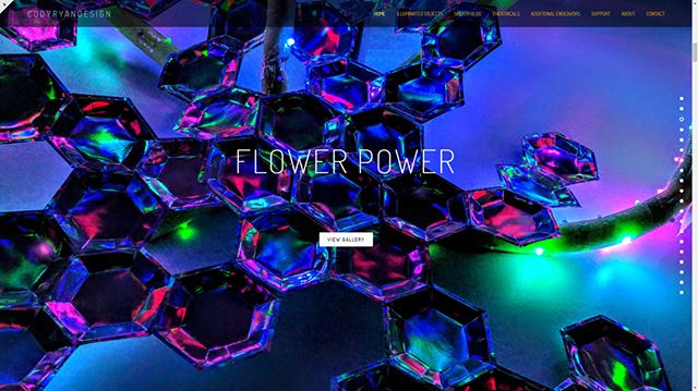 FLOWER POWER  Website galleries from @dmsocialclub 's BASH: On Another Planet are live! If you didn't get a chance to view these beauties in person, this is your next best chance. Enjoy the photos!  www.codyryandesign.com  Thanks to @jessicadoylelighting + @ksandos for this one!