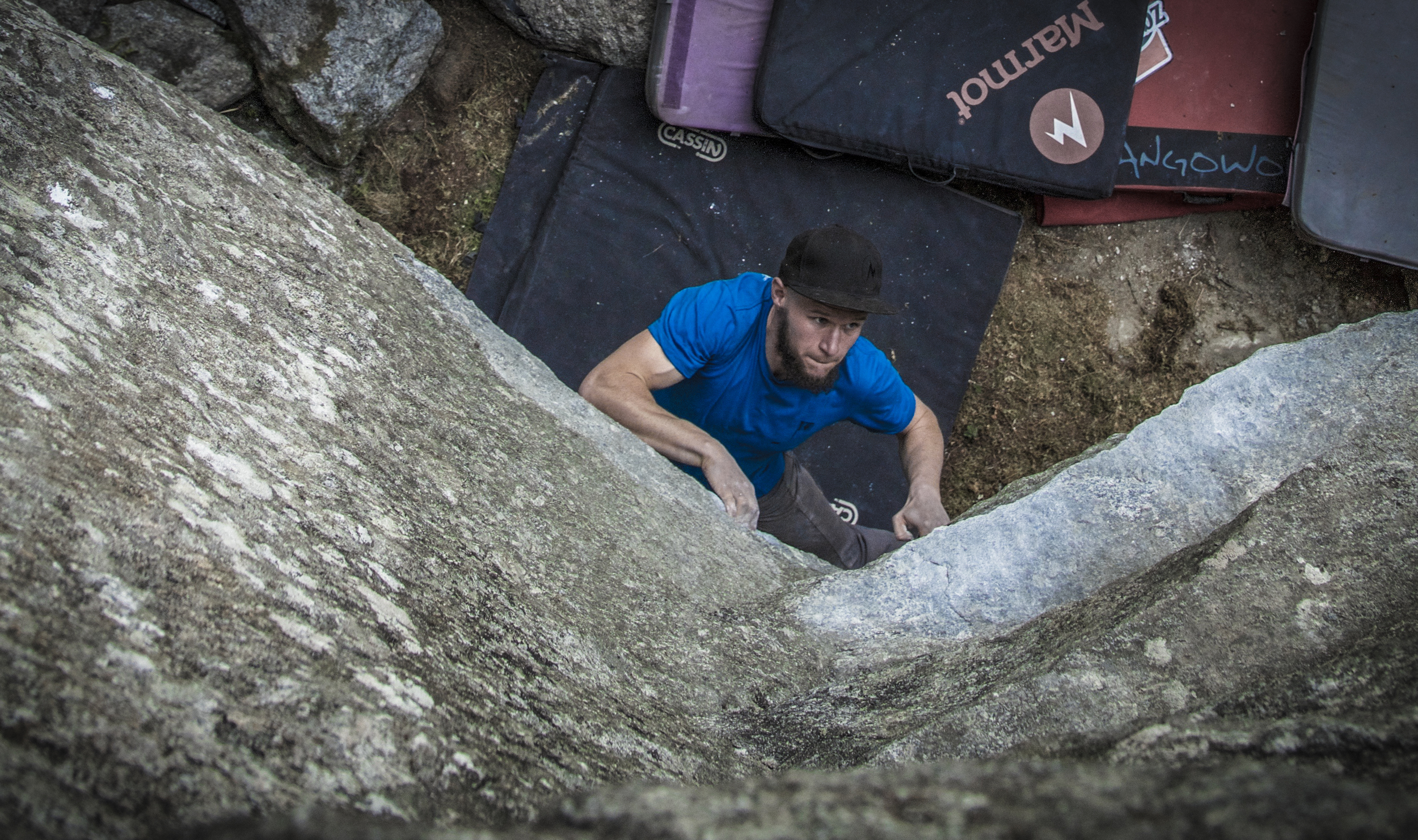 Would you believe it? A photo of ME, climbing!!! (pic: Anna-Liina Laitinen)