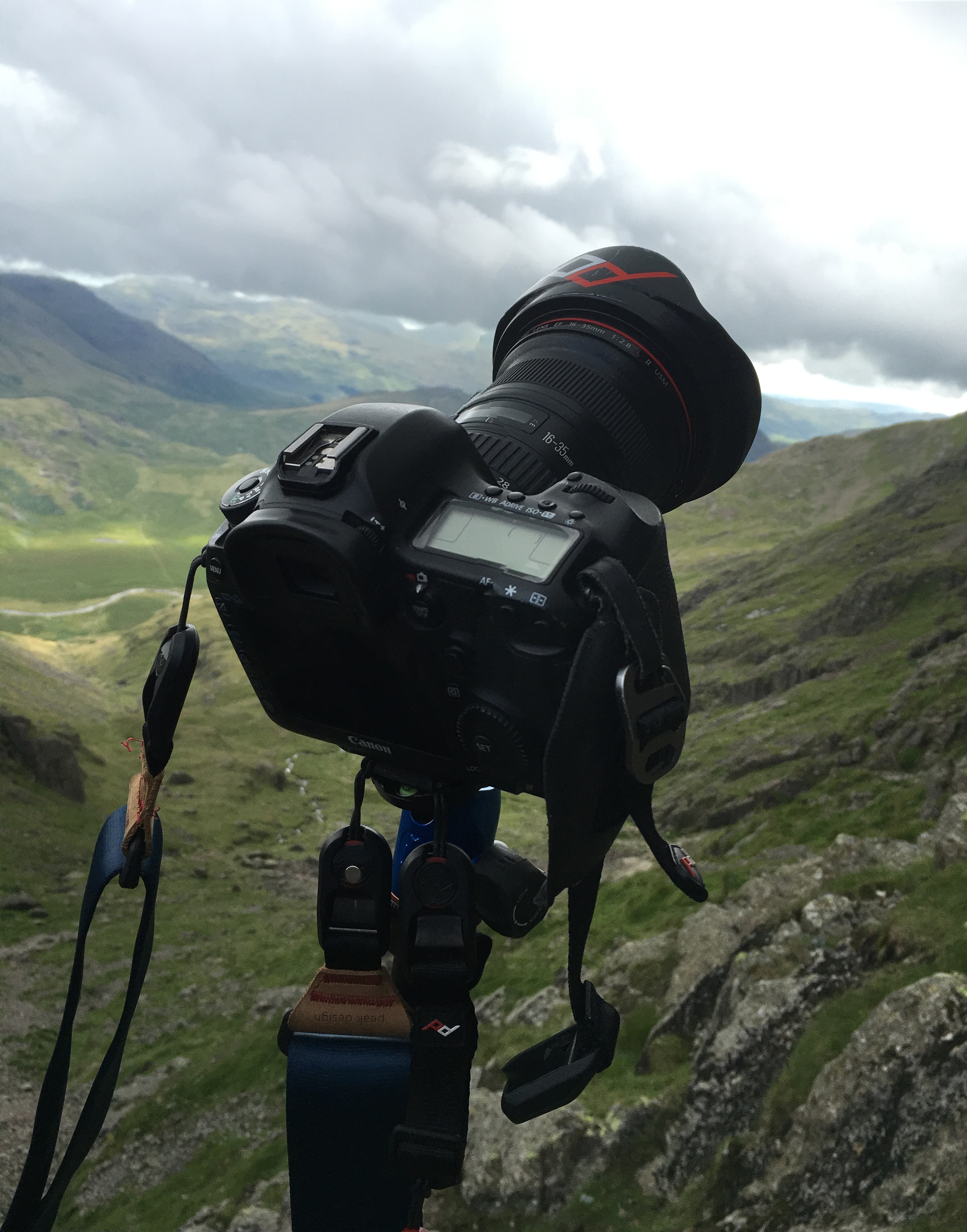 Scafell: shooting hard ascents on East Buttress
