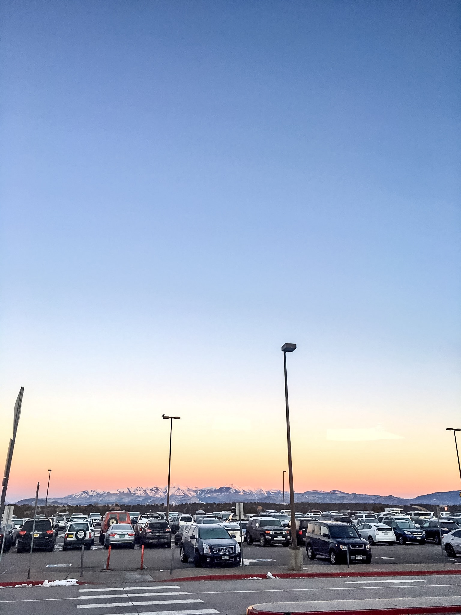 The view of the La Plata range, from the front door of Durango Airport. Not shit. © Liam Lonsdale 2016