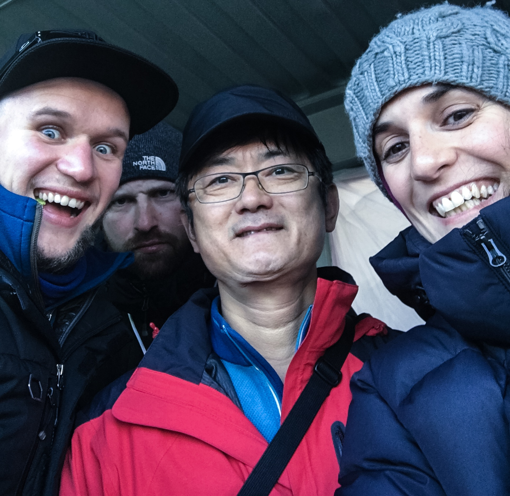 Some of the people I particularly enjoyed working with in Durango. L-R: Me, Jack McGill (stalking in the background), Mr Oh & Producer Ale  © Liam Lonsdale 2016